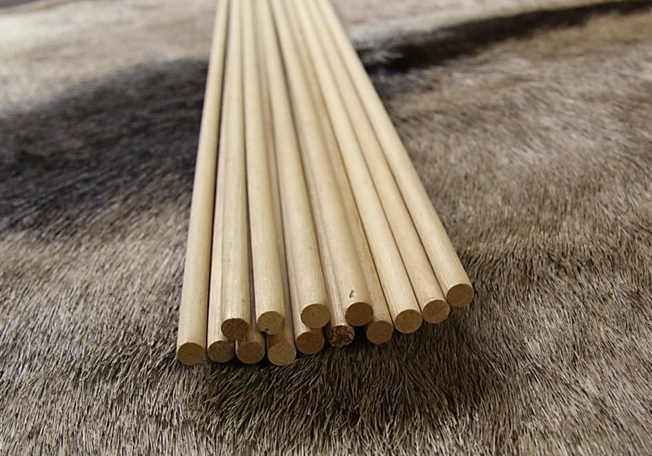 LifeCycle Wood Shaft Arrows